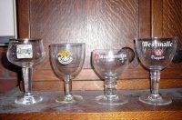 Bier- en wijnglazen voor verzamelaars voor