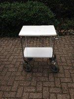 Aangeboden: Magezijn wagen etagewagen serveerwagen RVS n.o.t.k.
