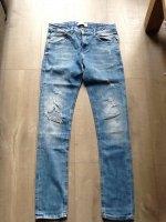 Blauwe ZARA Men spijkerbroek maat 40