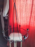 Hanglamp voor kaarsen