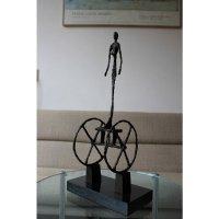Bronzen Brons Beeld The Chariot naar