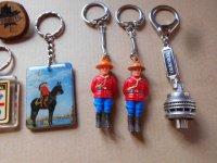 Lot sleutelhangers, nieuw, uit amerika