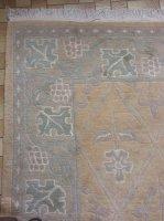 Twee handgeknoopte Nepalese tapijten