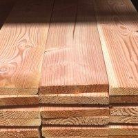 Douglas plank 25 x 195 x 4000 mm geschaafd