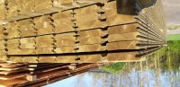 Dikke blokhutdelen met v kant 28mm