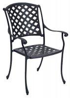 Tuinstoel giet aluminium 43x63x91cm - stoel