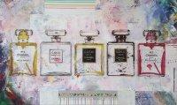Moderne Abstracte Unieke schilderijen in kleur