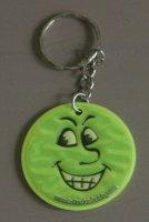 Sleutelhanger van een smiley / emoticon