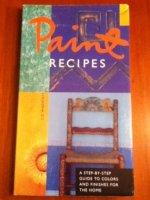 Paint recipes - Liz Wagstaff