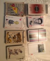 UNIEKE kaartspelen voor geïnteresseerde verzamelaars