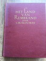 Het land van Rembrand - C.