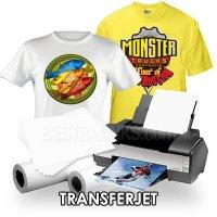 Inkjet T-SHIRT transfer papier, bedruk simpel
