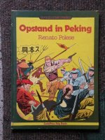 Stripboek \'Opstand in Peking\'. Hardcover.