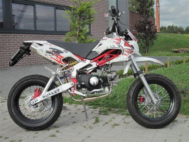 Verbazingwekkend NIEUW!! Orion Nox Straatlegale Pitbike 50cc!! te Koop Aangeboden OQ-16