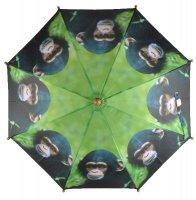 Aangeboden: Grappige kinder paraplu met een print van een aap KG158A € 7,95