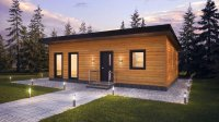 Chalet massief hout te huur