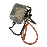 Gas LPG propaan heater op statief