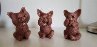 Chihuahua set van 3 beeldjes horen,