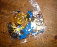 1 zakje originele Euro munten 1e