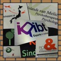 Bedrijfsnaamborden met logo Naamplaatprint.nl GroenenGraveer