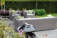 Loungeset lounche set tuin terras rond