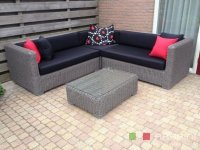 Loungeset lounche hoek bank terras tuin