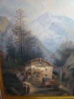 Bergen blokhut Oostenrijk in mooie lijst
