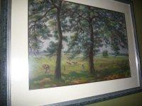 August Oppenberg (1896-1971) koeien 93x75cm