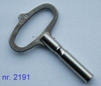 Nr. 2191 - Vernikkelde kloksleutel, stevig