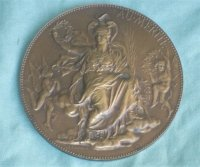 Médaille Penning Au Mérite - Chaplain