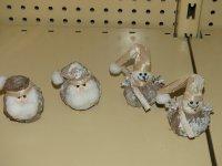 4 kleine kerstfiguurtjes