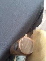 TAFELKLEED-TEXTIEL \'linnen-oil coating\' per meter landelijk