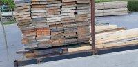 Gebruikte steigerplanken ongeveer 30mm dik 200mm