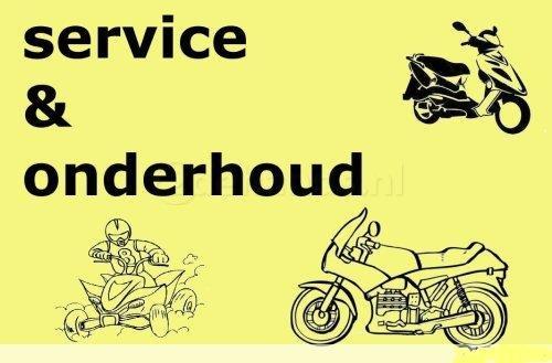 Service Manual Werkplaatsboek Handleiding Voor Motoren te