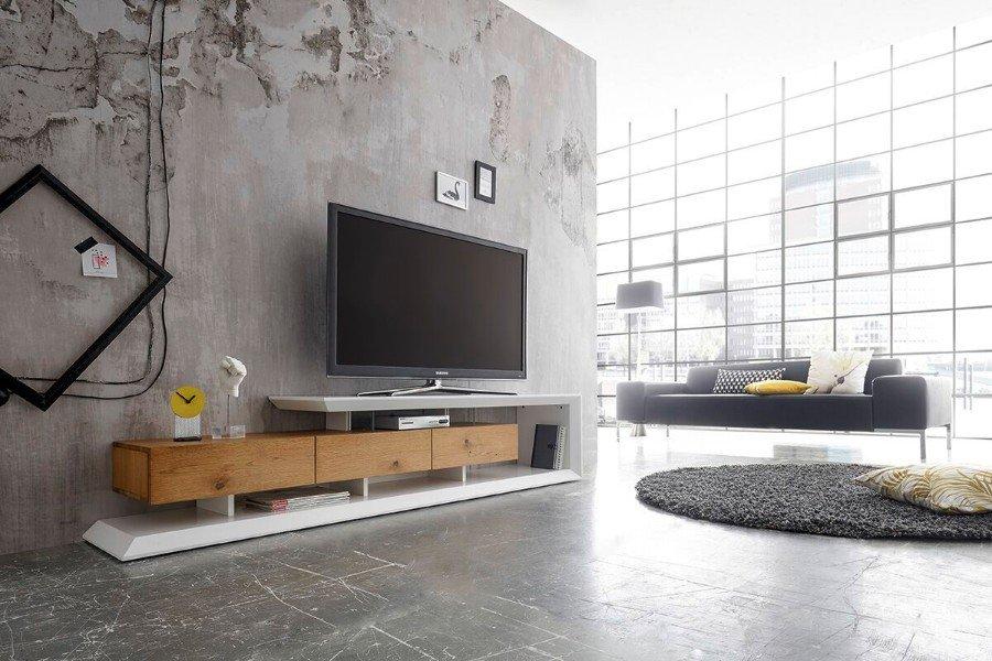 Modern Tv Meubel : Modern tv meubel mat wit eiken cm te koop aangeboden op