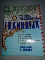 TOURING WEGENATLAS FRANKRIJK