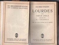 3 boeken van emile zola van