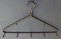 Metalen kapstok kleerhanger met 5 haken