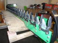Hydraulische heggenschaar voor tractor , minigraver