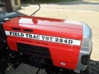Minitractor tractor FieldTrac 22 pk NIEUW