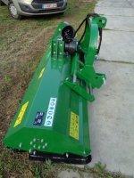Klepelmaaier maaimachine 195 cm met hamers