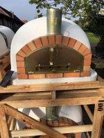 PISA 100 pizza-oven/bakoven/tuinoven geïsoleerd