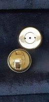 Koperen deurknop