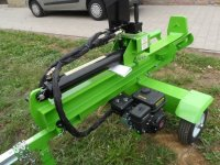Houtkliever kliefmachine met benzinemotor 22T drukkracht