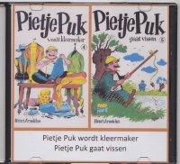Aangeboden: Pietje Puk wordt kleermaker (4) en Pietje Puk gaat vissen (5) € 3,-