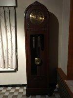 Antieke staande Kieninger klok