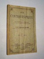 Dix cantiques pieux  de 1906