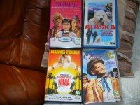 6 vhs kinderfilms en 1 DVD
