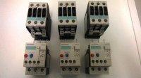 Siemens magneetschakelaars + thermisch overbelastingsrelais