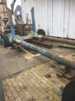 Aangeboden: 80 T boottrailer te koop/ te huur n.o.t.k.